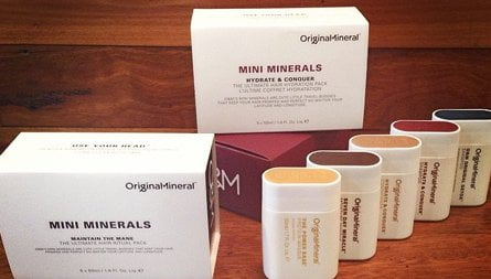 mini minerals hair product
